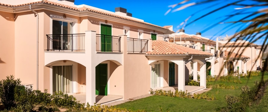 Facade of new Properties for sale in Colonia de Sant Pere, Arta, Mallorca
