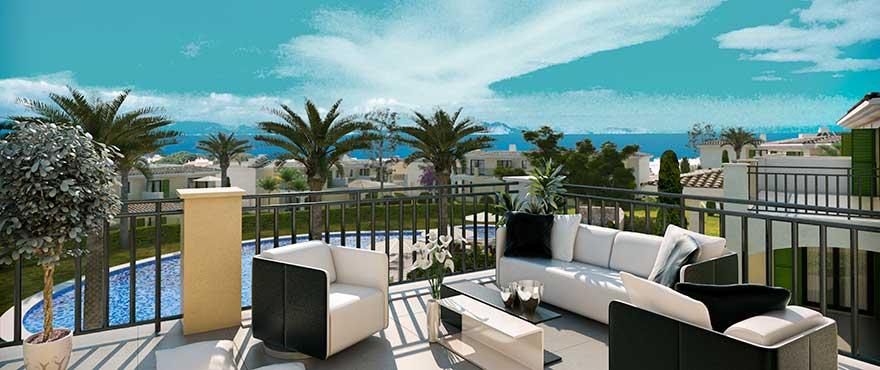 Nya lägenheter med terrass Bahía San Pere