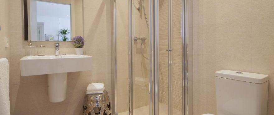 Complete bathroom, Bahia Sant Pere, Mallorca