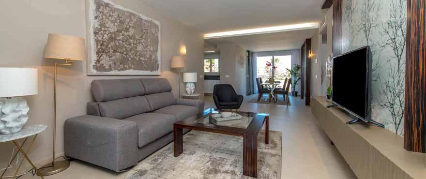 Helles Wohnzimmer mit herrlichem Ausblick, Punta Prima, Torrevieja