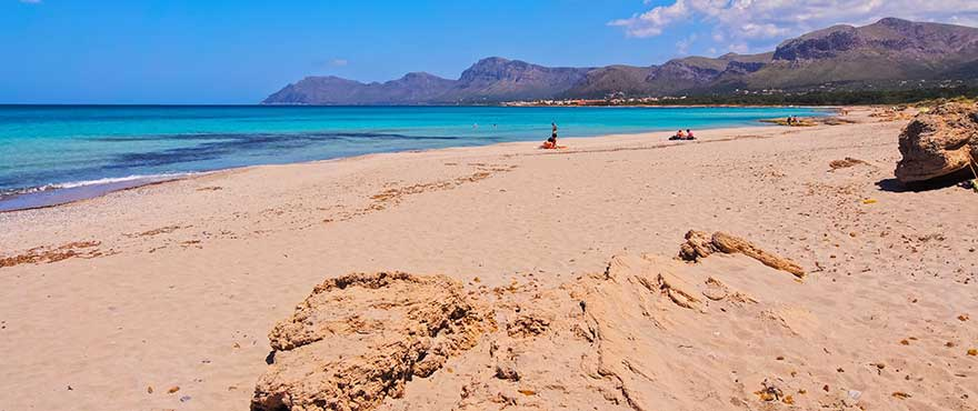 Die Bucht von Alcudia, Mallorca