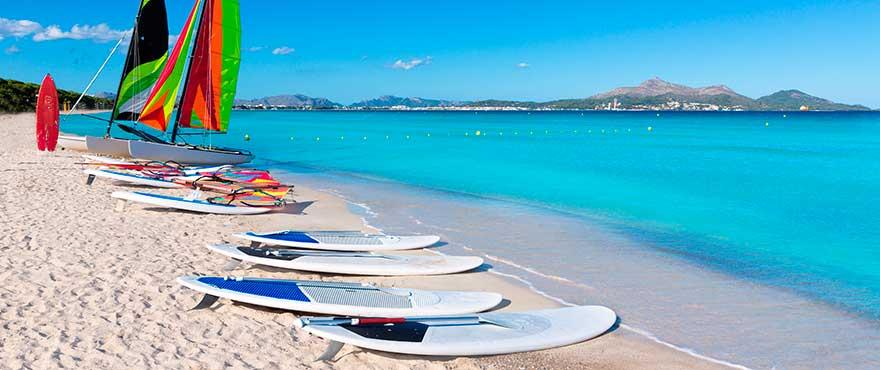 Paddle Surf à Colonia de Sant Pere, Majorque