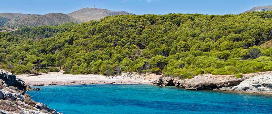 Cala Matzoc en Península de Levante, Mallorca