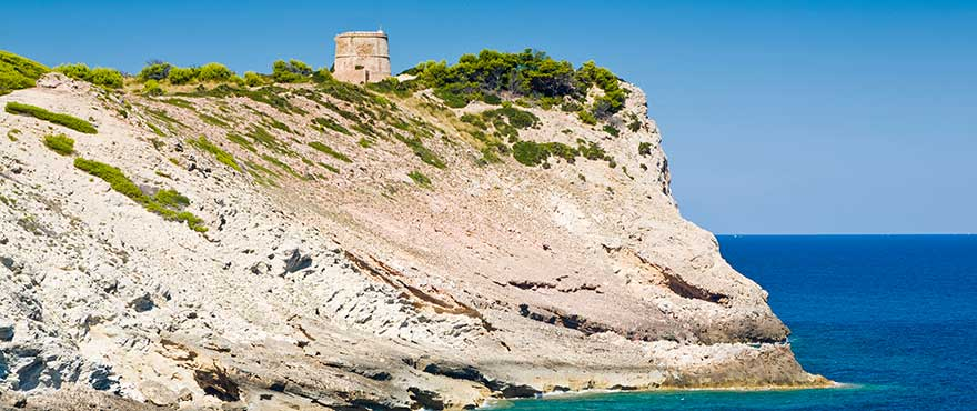 Watch Tower in Natural Park of Levante, Mallorca
