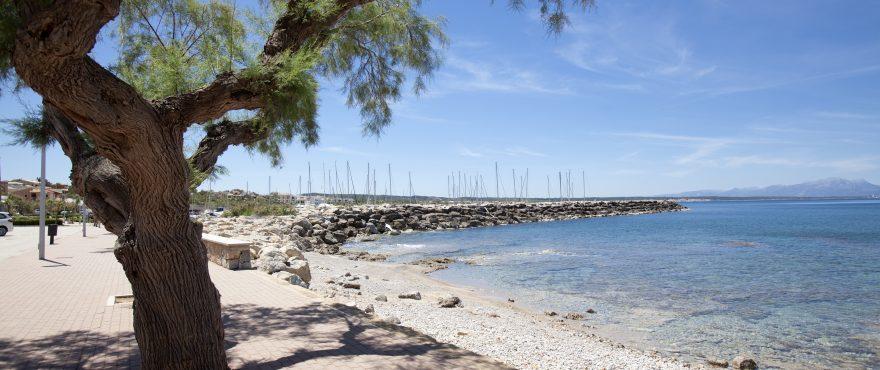 Это типичный и оригинальный прибрежный поселок на безмятежном острове Мальорка.