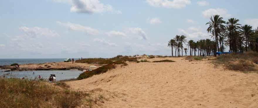 Playa junto a los nuevos apartamentos de Panorama Mar