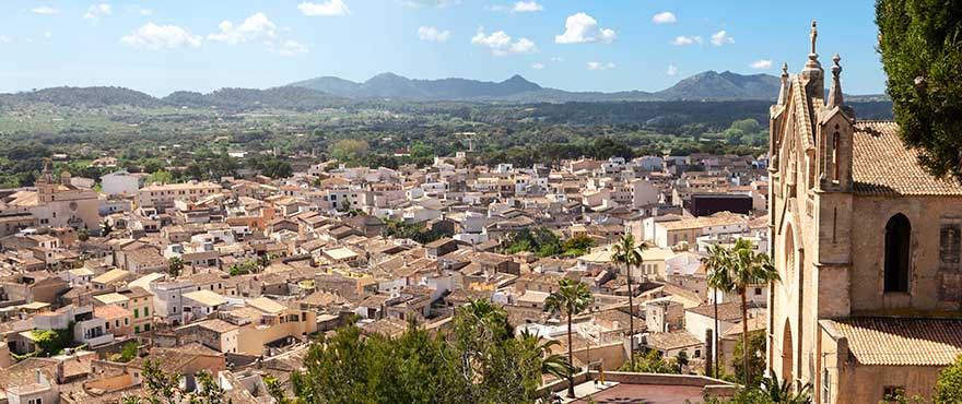 Village of Arta, close to Colonia de Sant Pere