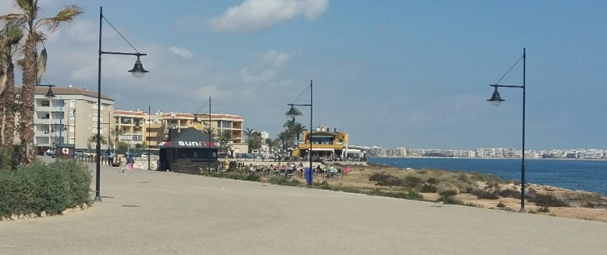 Strand von Punta Prima, Torrevieja, Alicante