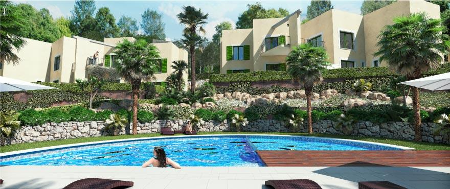 Cala Vinyes Hills gemeenschappelijk zwembad en tuinen, Calvia