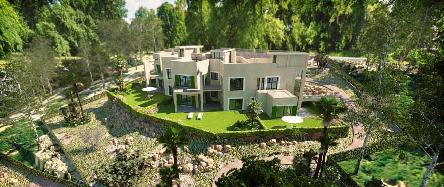 Cala Vinyes Hills piscina y jardín comunitario, Calvia