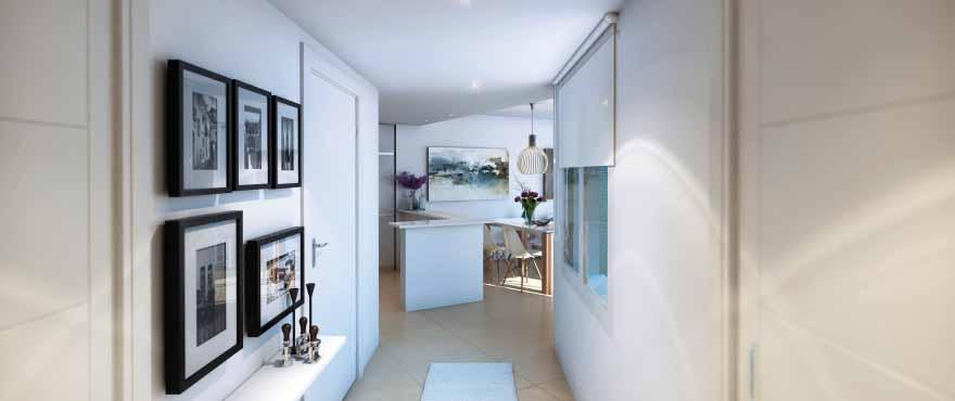 Cala Vines Hills, entrada, nuevos apartamentos a la venta, Taylor Wimpey
