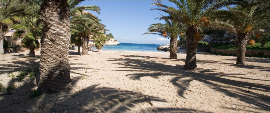 Cala Vinyes, playa Mediterránea, Mallorca, España