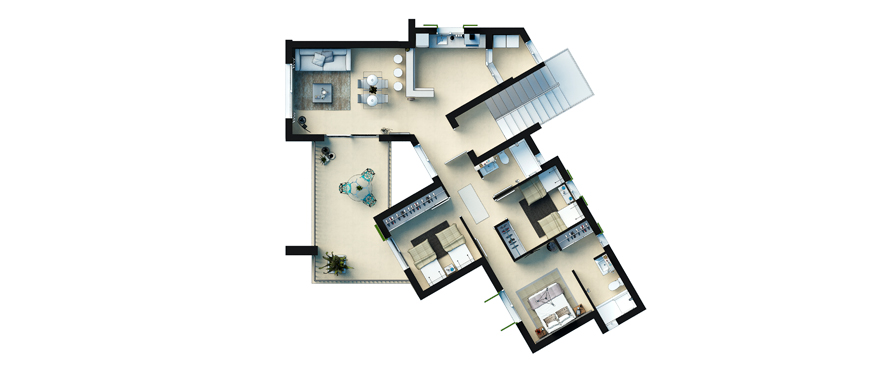 Plan Cala Vinyes HIlls - First Floor