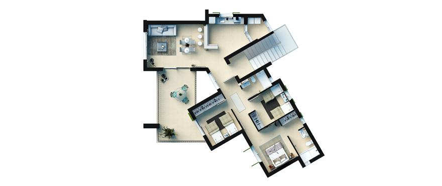 Plan Cala Vinyes HIlls - First Floor