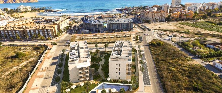 Nouveaux appartements à Jávea, avec piscine et jardins collectifs