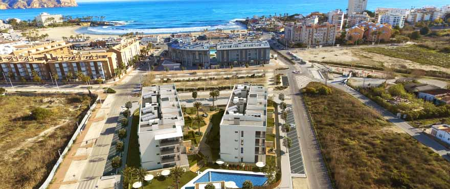 Nieuwe appartementen in Javea, met gemeenschappelijk zwembad en gemeenschappelijke tuinen