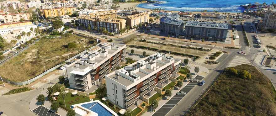 Neubauapartments in Jávea, 2 Minuten vom Strand Arenal Beach entfernt