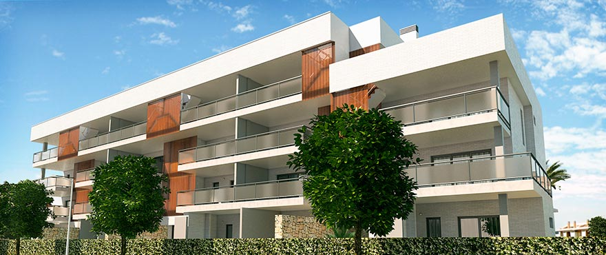 New exclusive 3 bedroom apartments in Costa Blanca