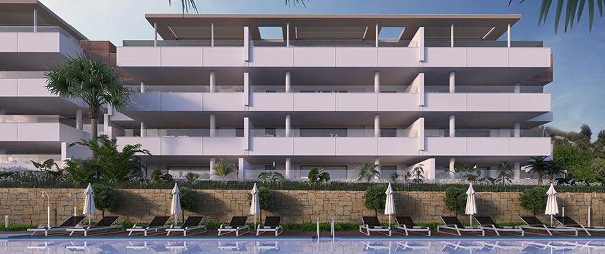 Pool and sport at Botanic, exclusive 3 bedroom apartments and penthouses.