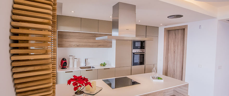 Alla lägenheter är med ny utrustning av högsta kvalitet