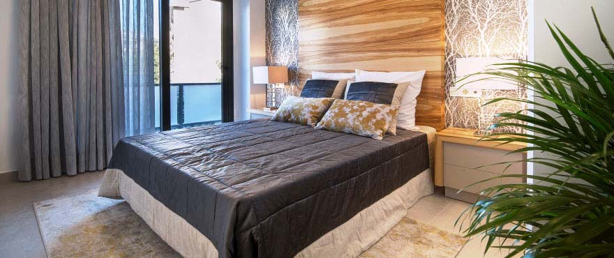 Habitaciones luminosas y modernas en Arenal Dream, Javea
