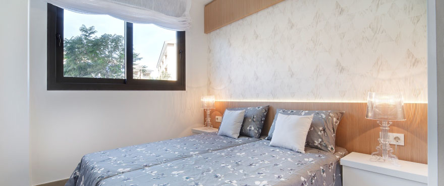 Luminous bedroom in your new home, Alicante