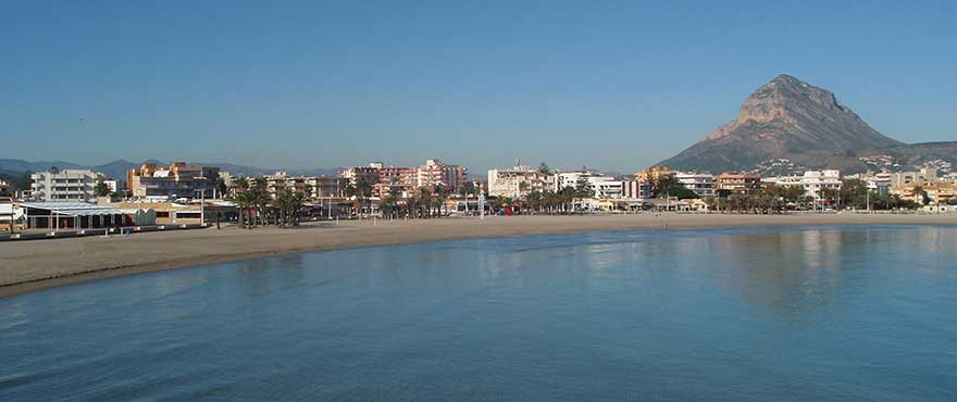 Javea beach, Alicante, Costa Blanca