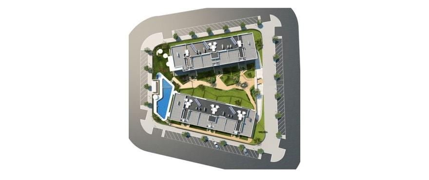 Plano del residencial Arenal Dream, Jávea