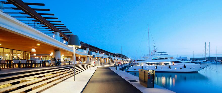 Eksklusiv marina Puerto Adriano