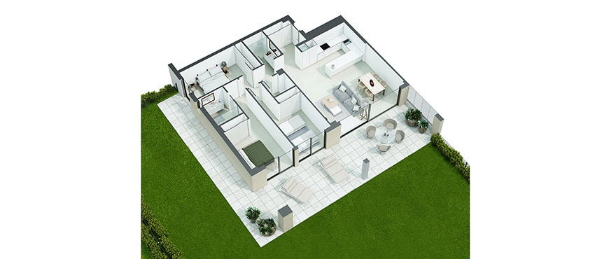 Serenity plan groundfloor