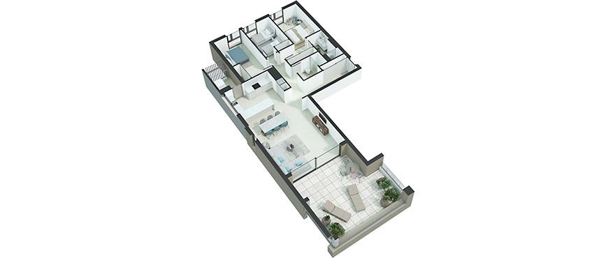 Serenity - apartamento 3 dormitorios 1-11