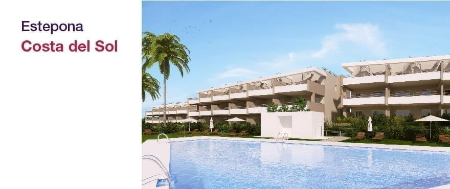 Green Golf apartments - Estepona: apartments and penthouses  2 and 3 bedrooms