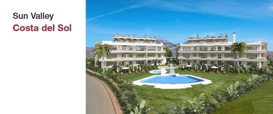Sun Valley - La Cala Golf - Mijas - Malaga:Lägenheter och takvåningar, 2 och 3 sovrum