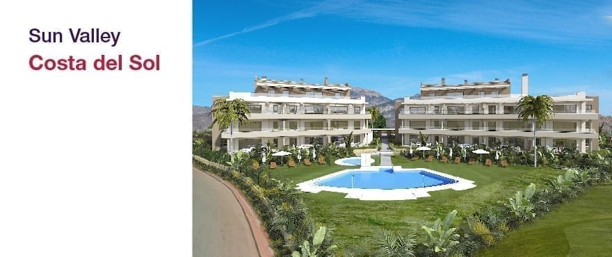 Sun Valley - La Cala Golf - Mijas - Malaga: Appartementen en penthouses, 2 en 3 slaapkamers