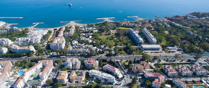 New apartments for sale next to the Casino of Marbella