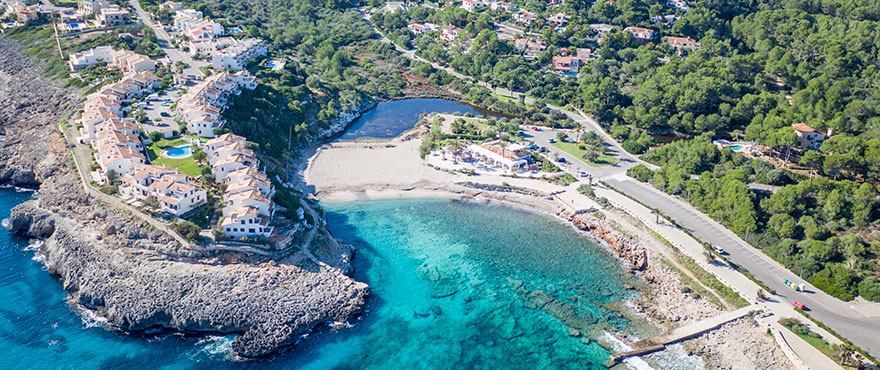 Cala Murada, beautiful sandy beach with crystal clear water