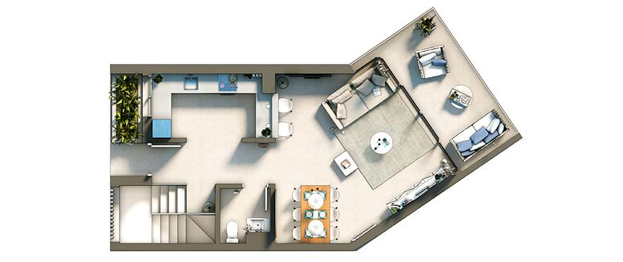 Cala Murada plan, basement