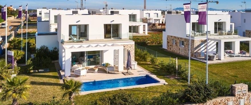 Las Villas de Dalt de Sa Rápita, Villa med egen pool till salu, Mallorca
