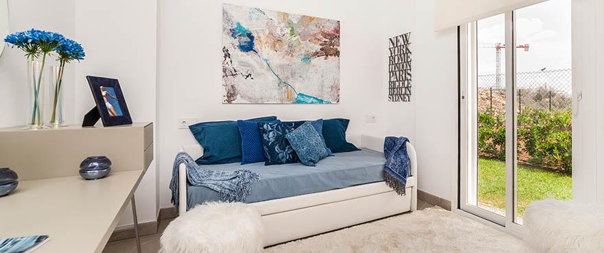 Lichte en nieuwe slaapkamer op Las Villas de Dalt de Sa Rapita