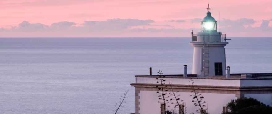 Faro Cap Blanc, Llucmajor, Mallorca