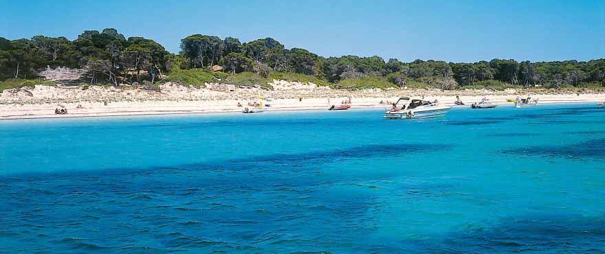 Es Trenc-stranden, Mallorca, Balearene