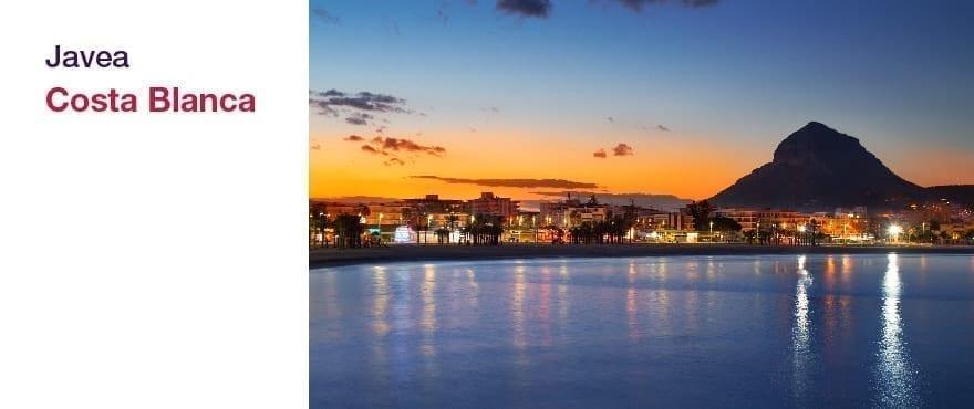 Javea, Alicante: leiligheter med 2 og 3 soverom