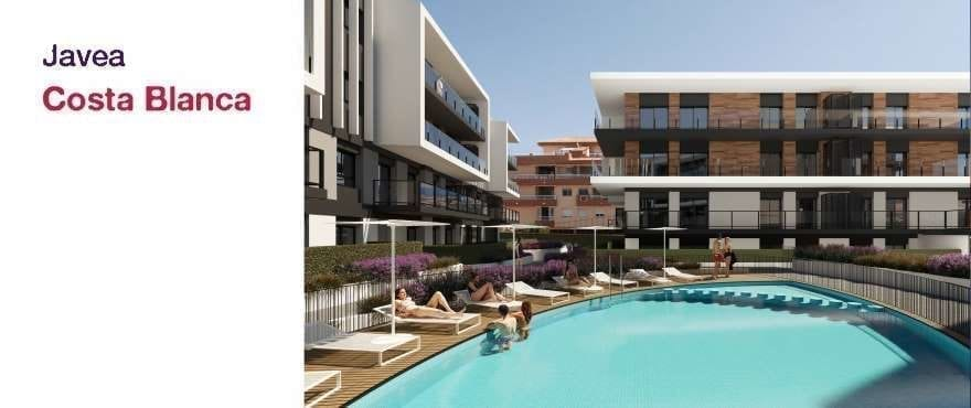 Essential, new apartments for sale in Javea, Alicante