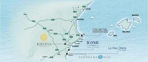 Ситуационный карта Коста Бланка