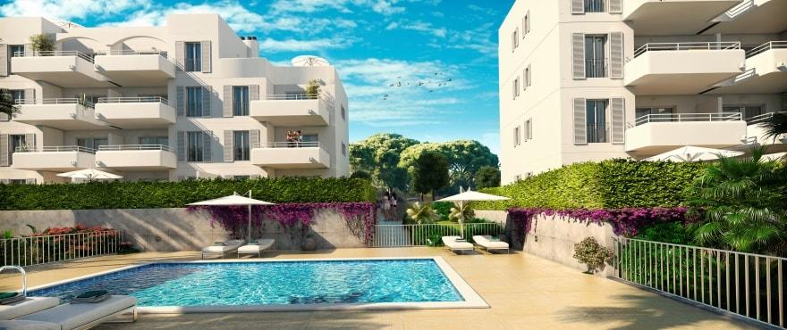 Acquamarina, medelhavsarkitektur i Mallorca