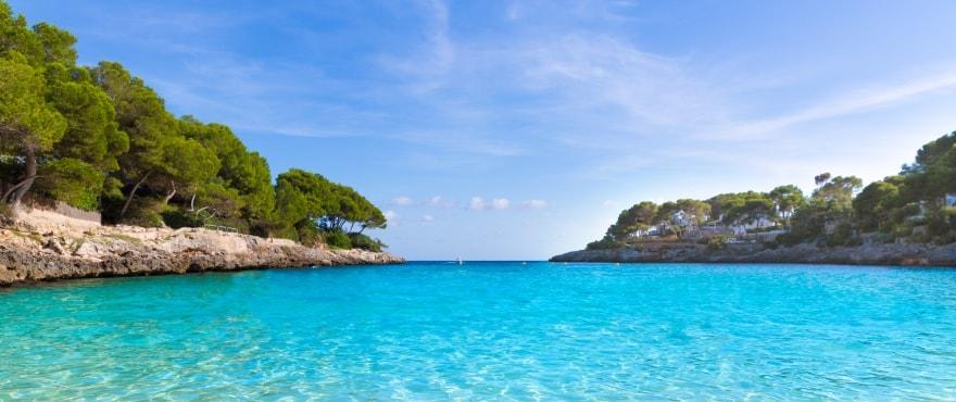 Stranden Cala D'Or, Santanyi, Mallorca