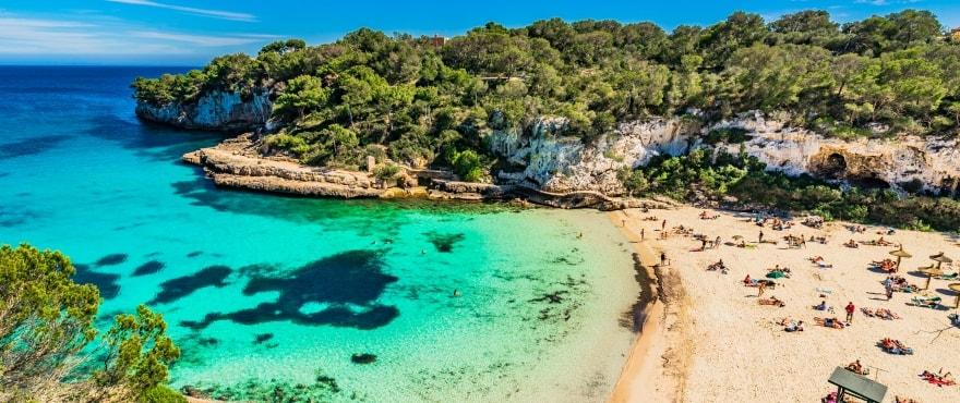Cala Llombards, Santanyi, Mallorca