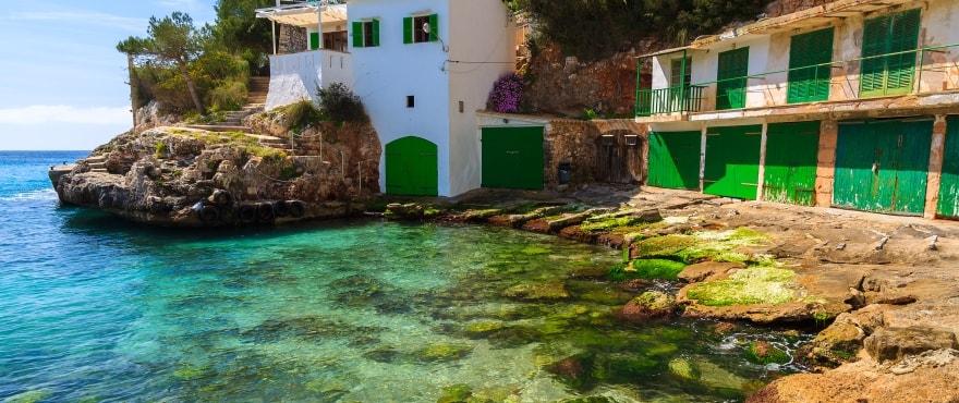 Cala Santanyi, Maiorca, Isole Baleari