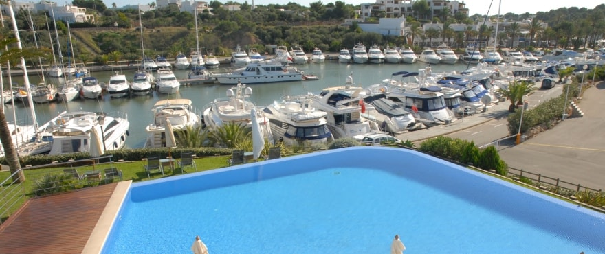 Port de plaisance Cala D'Or, Yacht Club, Santanyi, Majorque
