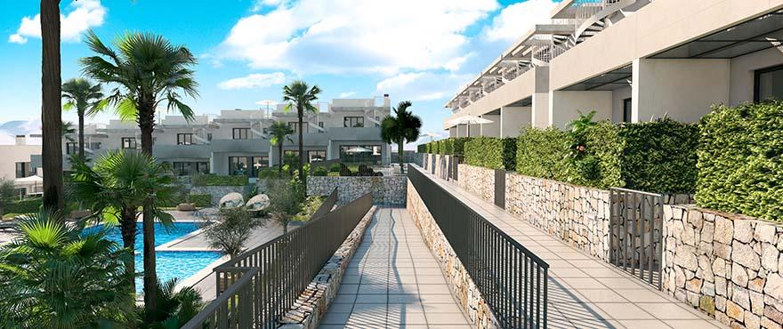 Townhouses in Elche, Alicante: Alenda Golf